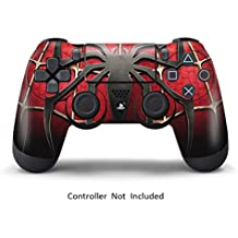 Pelli Per Playstation 4 Personalizzato Ps4 Controller Adesivi Controller Cover Protezione Ps4 Pelli Vinile per Sony Dualshock 4 Ps4 Wireless Remote Play Stazione Giochi Decalcomanie Controller - Spider Man