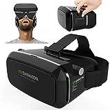 Gearmax® Google Cardboard cuffia di 3D VR realtà virtuale VR Occhiali per 4.7 a 6.0 pollici smartphone