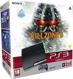Console PS3 320 Go noire + Killzone 3 3D