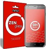 ZenGlass [2 Stück Flexible Glas-Folie für Acer Liquid Z6 Panzerfolie I Display-Schutzfolie 9H I (Kleiner Als Das Gewölbte Dis