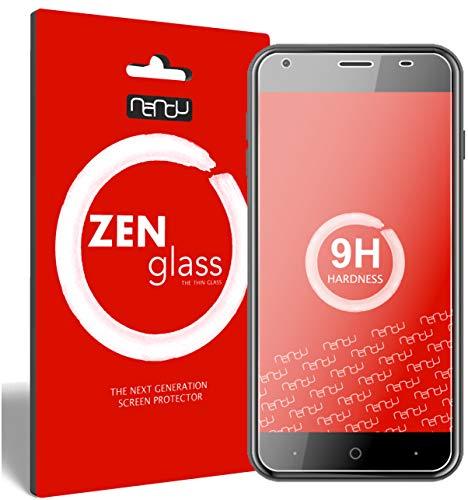 ZenGlass [2 Stück Flexible Glas-Folie für Acer Liquid Z6 Panzerfolie I Bildschirm-Schutzfolie 9H I (Kleiner Als Das Gewölbte Bildschirm)