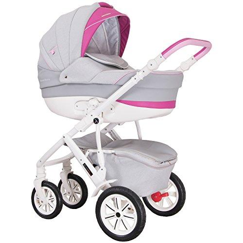 """Coletto """"Verona Classic"""" 3in1 Kombi-Kinderwagen mit Luftreifen (inkl. Babywanne, Sportsitz & Babyschale)"""