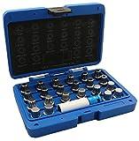RS 1000 VAG Felgenschloss-Schlüssel Set 23 TLG Rad-Sicherung Radschrauben Knacken Bolzen