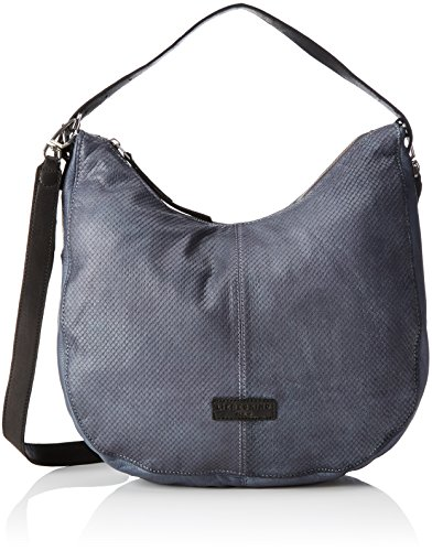 Liebeskind Berlin Damen Chatsworth City Tote, 10x28x35 cm Blau (Sky Blue Fw17)