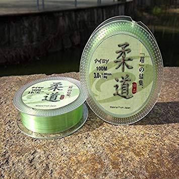 primetraders 0,6: Hohe Quty-Kohlefaser-PE-Angelschnur Nylon grün 100m / pcs 0,6# / 0,13 mm ~ 7# / 0,45 mm Angelschnur Angelgerät