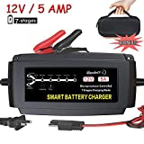 Lst 12V 5A Automatic Battery Charger Maintainer Smart Portable Deep Cycle Trickle Charger