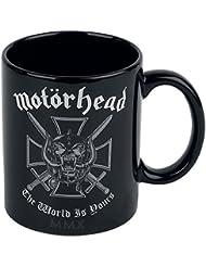Motörhead Tasse The World Is Yours Kaffeetasse Iron Cross Mug Becher