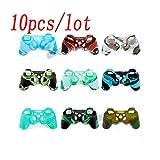10Pcs/lot Douce Gamepad Coque en Silicone Coque en Silicone Camouflage pour Manette...