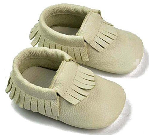 24 Walker Menina Estrada Bebê Menino Meses Rastejando Com Genuíno Unissex Sapatos Branca Calçados Borla Smith Sapatos Couro Mocassim 0 waYn15xnqC
