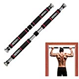 ONETWOFIT Barre de Traction de Porte Gym Barre Horizontale de Porte de Gym Exercice Fitness HK664