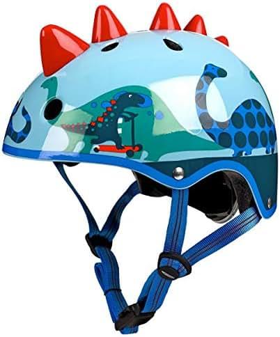 Mylujo Kids Helmet Ultralight Kids Bicycle Helmets Children Cycling Safety Helmet for Bicycle Scooter Rollerskate Skateboard M Pink shark