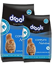 Drools  Adult(+1 year) Dry Cat Food, Ocean Fish, 3 kg + 1.2 kg Free
