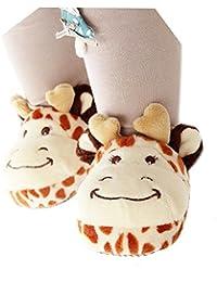 zapatos bebe invierno, Sannysis Zapatilla de casa bebé niña niño zapatillas de algodón suave bebe