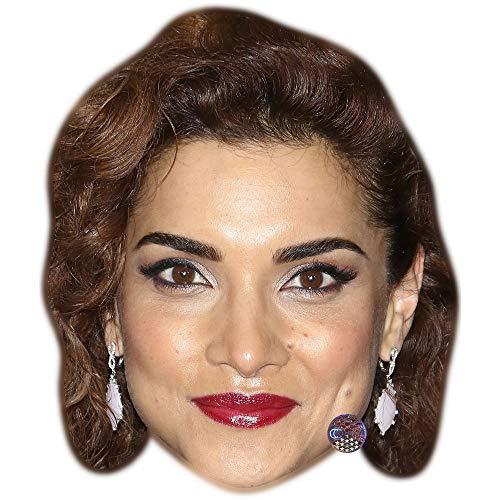 Celebrity Cutouts Amber Rose Revah Maske aus Karton