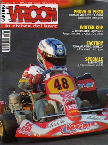 Vroom la rivista del Kart 175 marzo 2004 Prova Tony Venox/Vortex 100 RVA