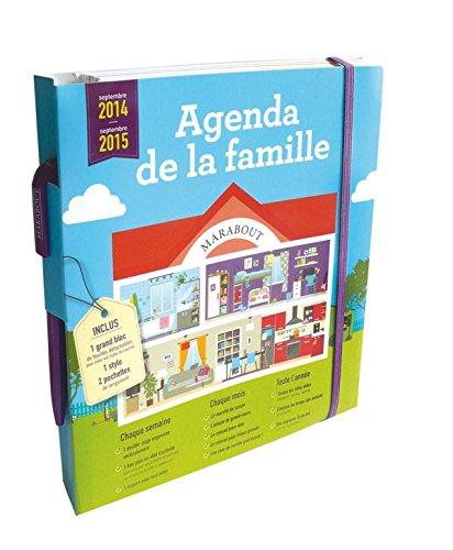 AGENDA MARABOUT DE LA FAMILLE 2014-2015