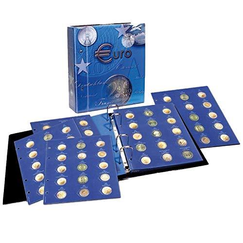 Münzen 2004-2013 TOPset Sammelalbum aller EU Länder- Münzsammelalbum für Ihre Coin Collection - inkl. 11 Albumblättern Nr. 7854 mit Patentvorrichtung ()