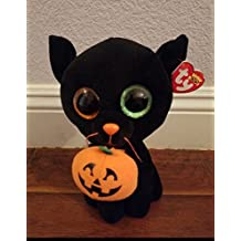 TY BEANIE BOOS BLACK CAT- SHADOW 23CM