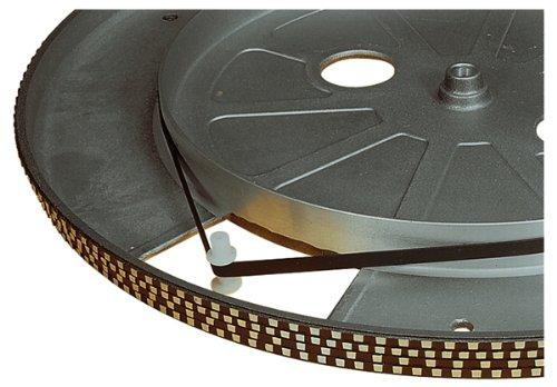 Electrovision–Cinture di platino Giradischi nera–dimensioni: 121mm