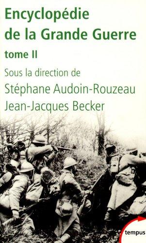 Encyclopdie de la Grande Guerre, tome 2 (2)