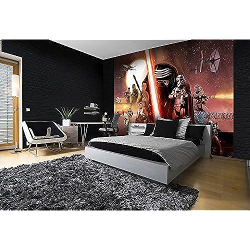 Wizzard Genius WG 2737P4 LC Star Wars The Force Awakens Photo Wallpaper Multi Colour
