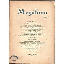 MEGAFONO.Tomo II. No. 9. Diciembre 1931