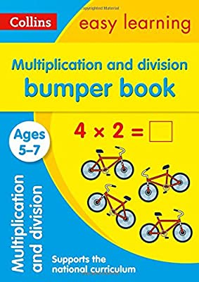 Multiplication and Division Bumper Book Ages 5-7 (Collins Easy Learning KS1) by Collins