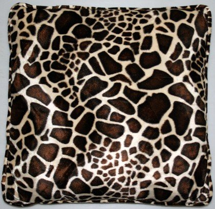 Kissen Animal Print groß, Farbe:Giraffe