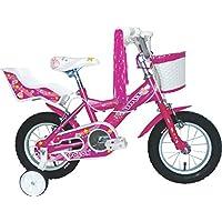 Umit J1251 Bicicleta Infantil, Niñas, Rosa, ...