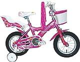 Umit J1251 Bicicleta Infantil, Niñas, Rosa, 12'