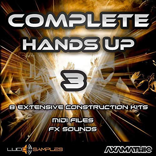 Kit Production Pack (Complete Hands Up Vol. 3 - Construction Kits Sample Pack | WAV + MIDI Files | Download)