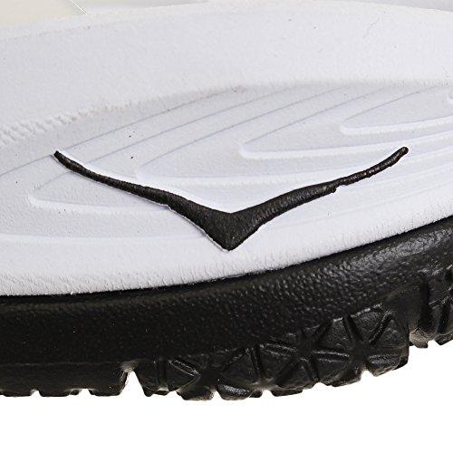 Sandales HOKA One W Ora Recovery Flip Black/White Blanc