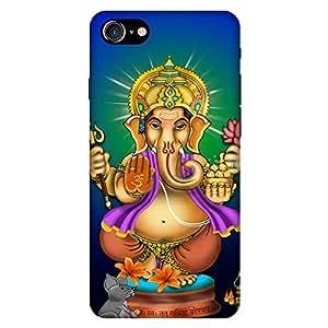 Bhishoom Designer Printed Back Case Cover for Apple iPhone 7 (Ganesha :: Lord Ganesha :: Ganpati :: Ganapathi :: Gajraj,)