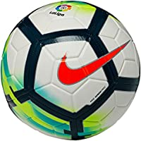 nike LL NK Strk Balón de Fútbol, Blanco / (White / Turquoise / Seaweed / Total Orange), 4