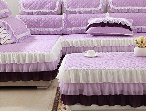 Asciugamano di autunno/inverno pizzo divano/ cuscino divano di slittamento-C