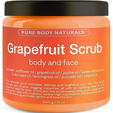 Pure Body Naturals Scrub Viso e Corpo al Pompelmo -