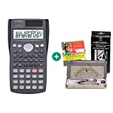Casio FX-85MS + Geometrie-Set + Lern-CD (auf Deutsch)
