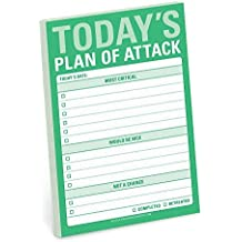 Knock Knock Today's Plan of Attack Great Big Stickies by Knock Knock (2015-06-15)