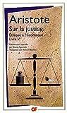 Sur la justice - Ethique à Nicomaque Livre V