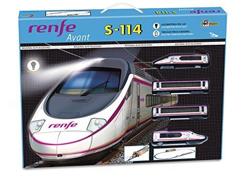 Pequetren - Tren Renfe Avant S-114 (Servicios E Ind. Del Juguete,S.A. 700)