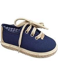 Vul-Peques Zapatos de Niño con Suela de Serraje (33, Beige)
