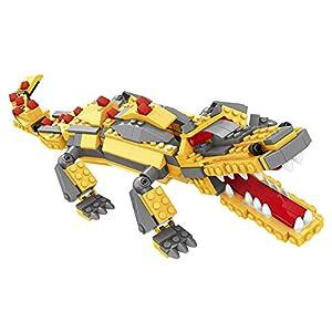 Ausini - Juego de construcción Robot 3 en 1 - 432 piezas (ColorBaby 42847)