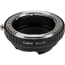 Fotodiox Anello Adattatore per Nikon Obiettivo a Fotocamera Leica M, Leica M3, Leica M-Monochrome, M8.2, M9, M9-P, M10 e Ricoh GXR Mount
