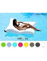 chillisy® PREMIUM PILLOW piscina, Maxi 190x130 cm (rosa)