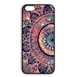 Romantic iPhone 6 iPhone 6S - 4.7 Inch Snap-on Protective Cover Coque, Tribal Paisley Flowers iPhone 6/6s Dust Proof Lightweight Housses For Girls