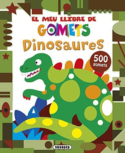 Dinosaures (El meu llibre de gomets)