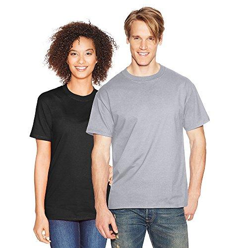 Hanes-Beefy t-shirt a maniche corte 5180 Ice Gray XXXL