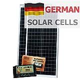 80 W (40W + 40W) Photonic Universe solar Ladegerät Solarzellen von BOSCH, mit 10 A dual Akkuladung controller und Kabel, für Wohnmobile, Wohnwagen, Boot oder andere 12/24V Akkusystem