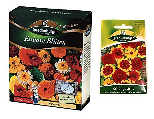 Essbare Blüten | Blumenwiese | 1x Schöngesicht kostenlos