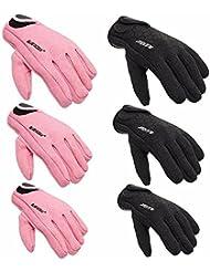 Lelantus 1.5mm completos de neopreno dedo scuba diving guantes de pesca palmas unisex textura guantes